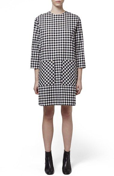 Topshop Boutique Gingham Dress