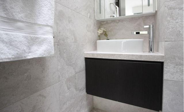 Bathroom Reno in Blakehurst  www.designtiles.com.au