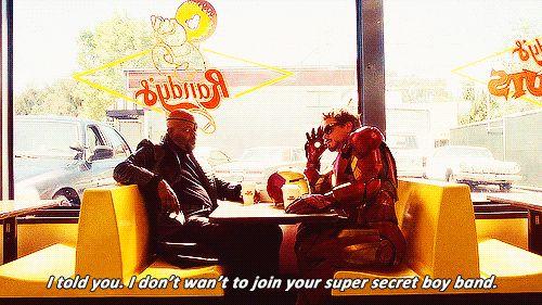 """24 Great Tony Stark Quips - hahaha """"The Avengers: Super Secret Boy Band"""""""