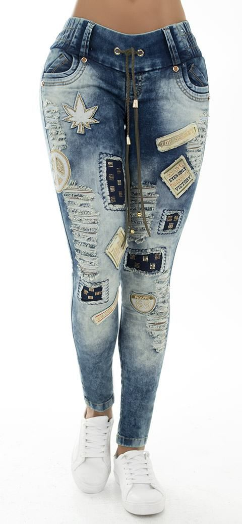 Jeans levanta cola WOW 86178 - Jeans Colombianos