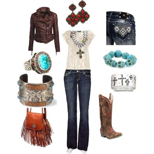 Turquoise Turquoise Turquoise Turquoise !!! ;)   Minus the purse!!: Cowgirl Boots, Turquoi Turquoi, Country Styles, Dream Closet, Cowgirl Outfit, Leather Jackets, Cowboys Boots, My Styles, Country Girls Outfit
