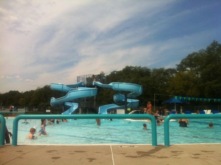 The Walter R Bauman Aquatic Center Offers Fun For The Whole Family Features Two Water Slides