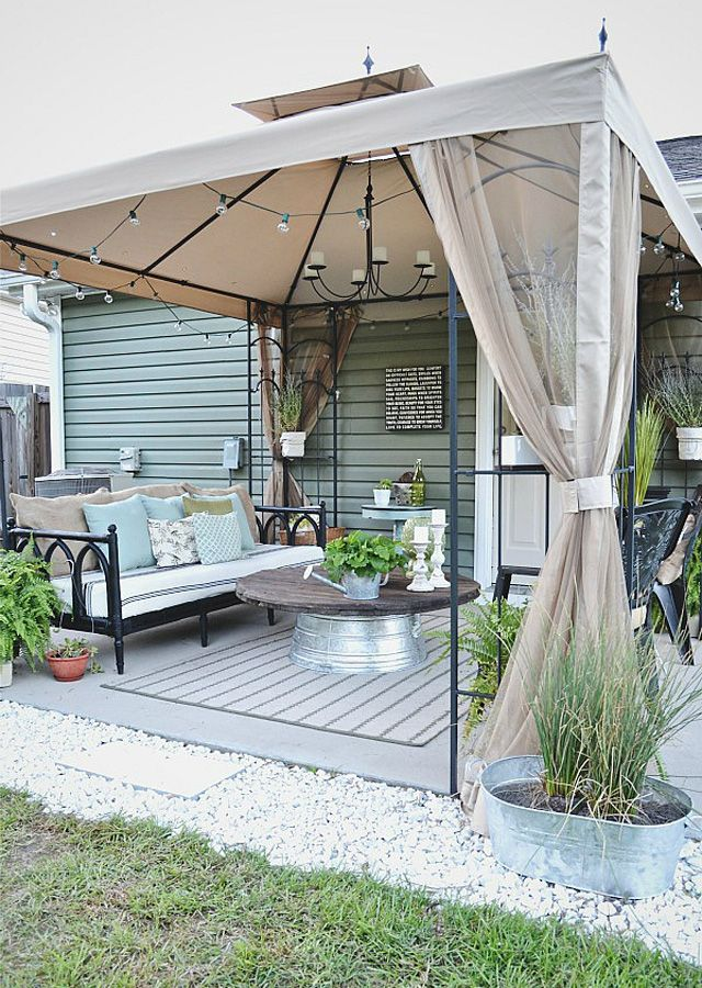 Country Living Patio Furniture Replacement Cushions: Best 25+ Patio Ideas Country Ideas On Pinterest