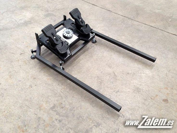 Marco para pedales saitek en cualquiera de nuestros V27. Para simulador de vuelo.