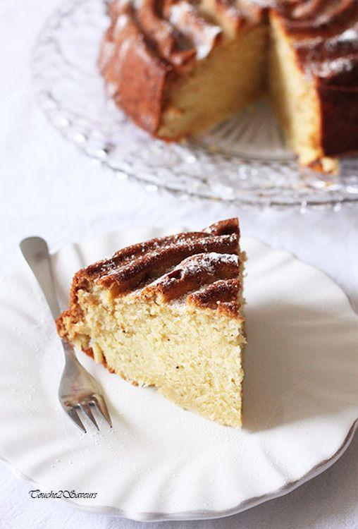 Vanilla cake de Nigella Lawson