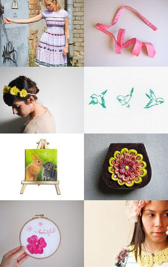 Beautiful spring by Marta Terraroli on Etsy--Pinned with TreasuryPin.com