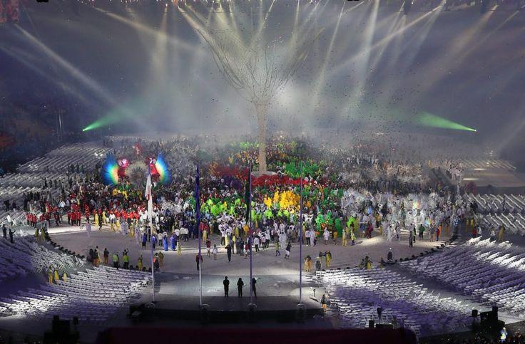 Rio de Janeiro, 2016. augusztus 22. A XXXI. nyári olimpiai játékok záróünnepsége…