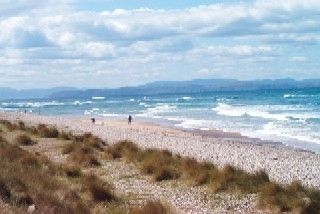 Moray Firth - these beaches look like nearest good ones