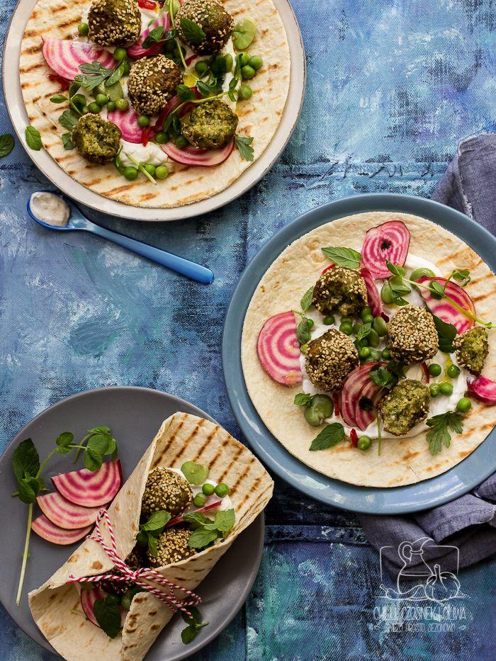 Domowe falafele ze świeżego bobu / Chilli Czosnek i Oliwa