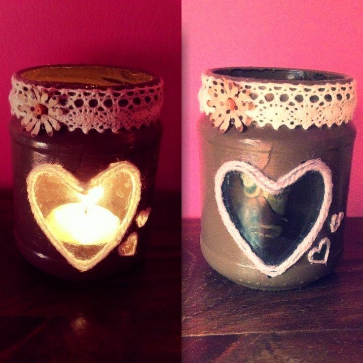 #candleholder #loveheart #handmade #portacandela #cuore #fattoamano E❤