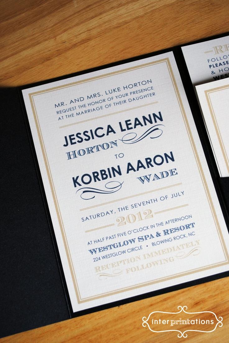 63 best Wedding Invitations images on Pinterest | Wedding stationery ...