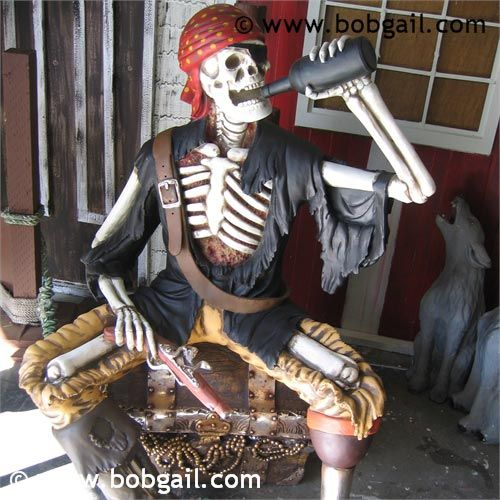 rum pirate halloween decorationspirate - Halloween Rental Decorations