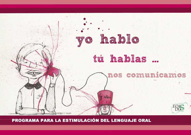 Completísimo programa que acabo de descubrir. YO HABLO, TÚ HABLAS… NOS COMUNICAMOS es un programa para la estimulación del lenguaje oral elaborado desde el Área
