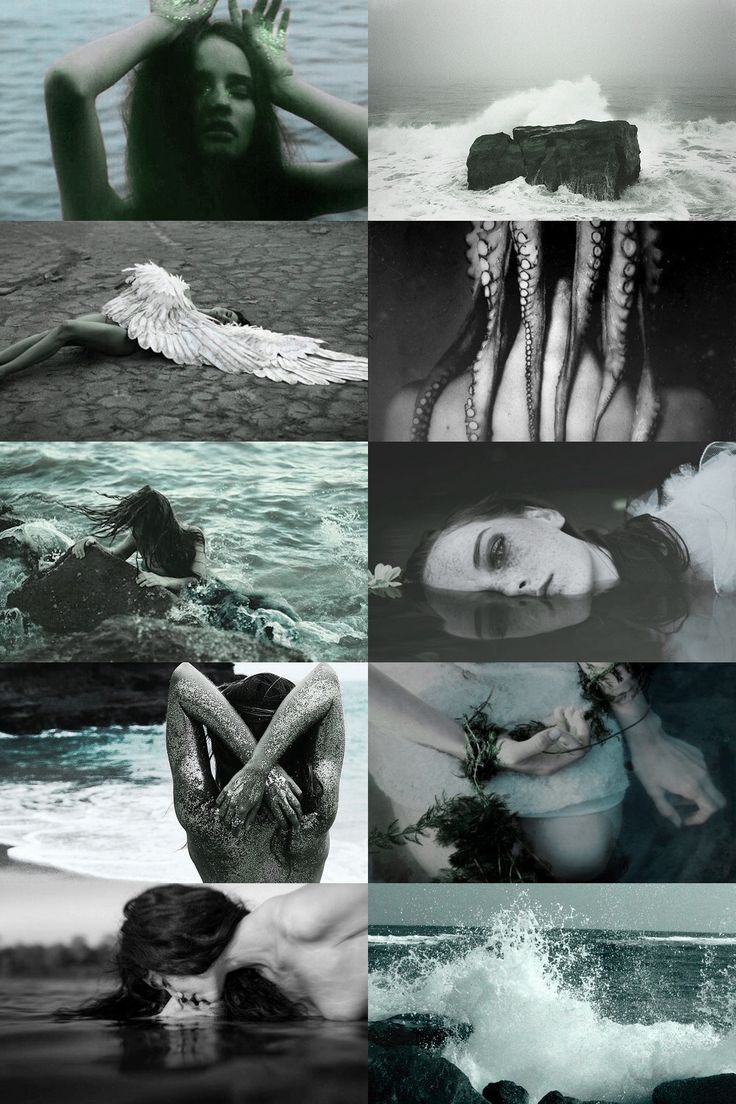 siren aesthetic (more here)                                                                                                                                                                                 More