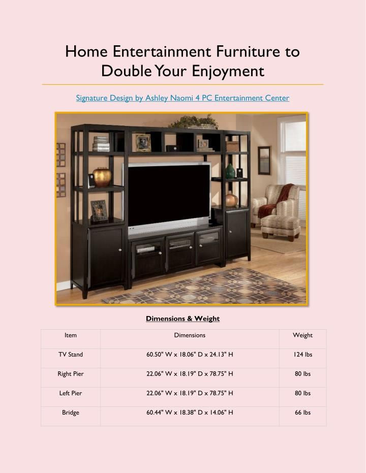 Home Entertainment Furniture to Double Your Enjoyment #Furniturestorephoenix #Homeentertainmentfurniturestore