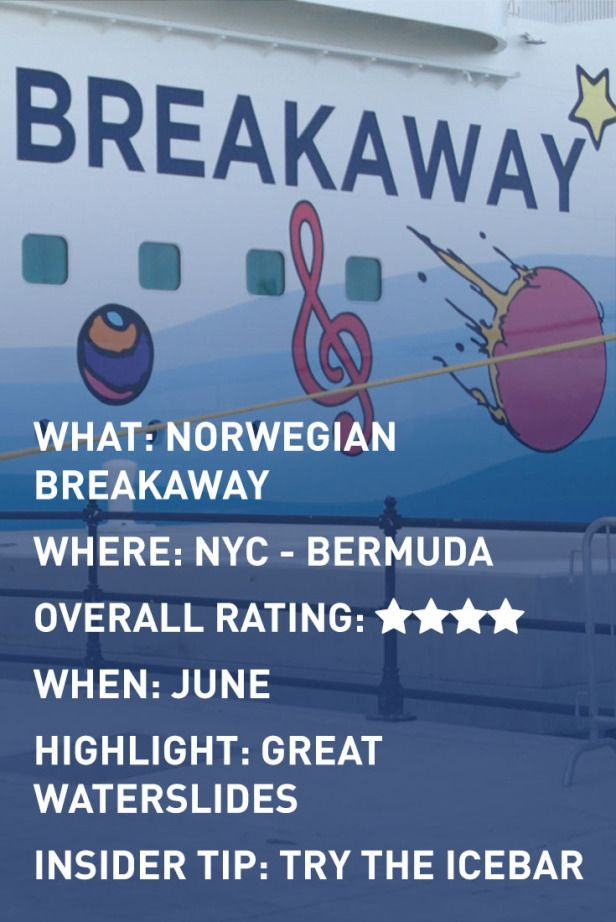 Adventures For Two: Review of Norwegian Breakaway cruise ship. www.adventuresfortwo.com