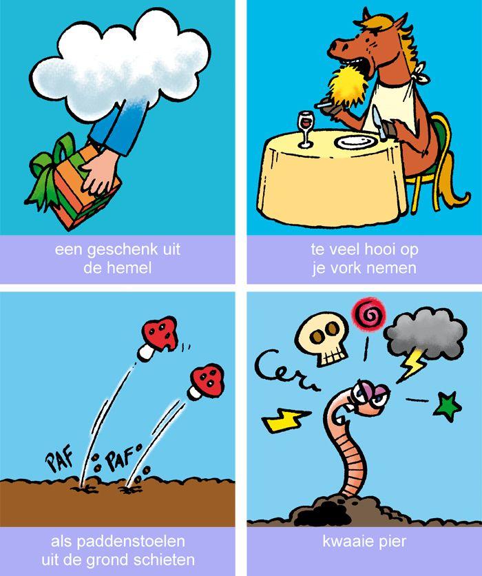 Roger Klaassen – illustratie, strip en cartoon | Spreekwoorden