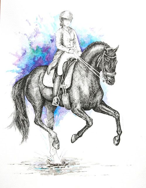MZ - horse art: Galop