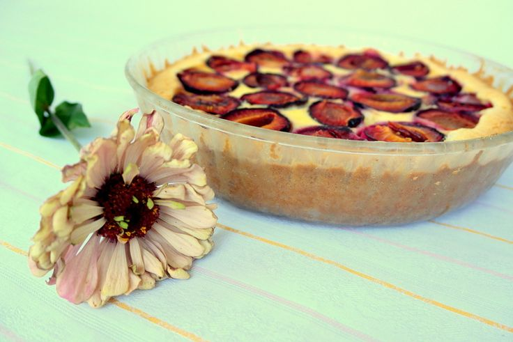 Plum&pudding tarte!