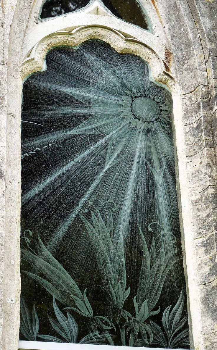 Built in 1776, St Nicholas' Church in Moreton, Dorset, is unique because it is the only church in the world to have engraved glass windows instead of stained-glass. They were designed by Sir Laurence Whistler.