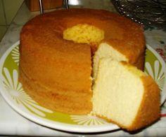 Receita de Bolo pão de ló - Show de Receitas