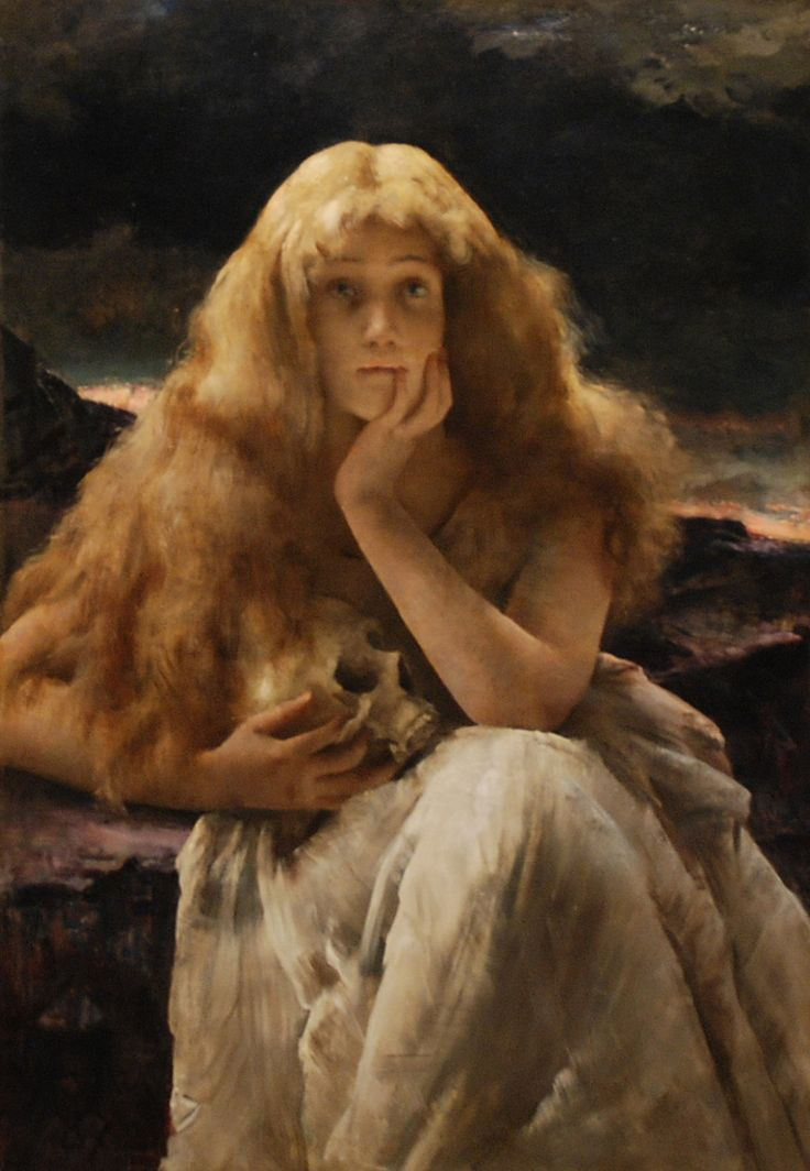 Maria Magdalena- Alfred Émile Léopold Stevens