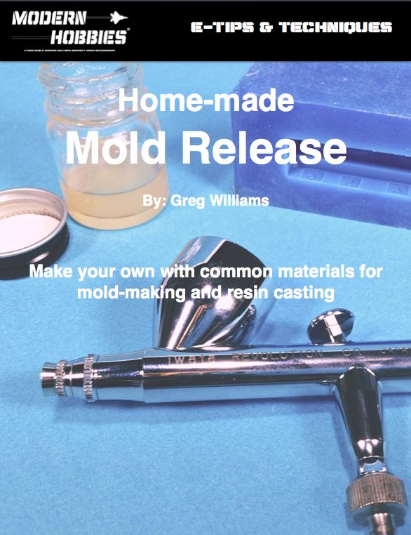 Hello fellow modellers, I wanted to share a tip with you all out there who are currently employing mold-making and casting for their scale modelling. One of the most used supplies I reach for in the MH shop is mold release. I depend on two tried and true brands, a commercial spray called Mann Ease Release 200 and my own! I put together a quick article on how to make your own and employ it for your mold-making and resin casting efforts. Click on the image below to download, print ...