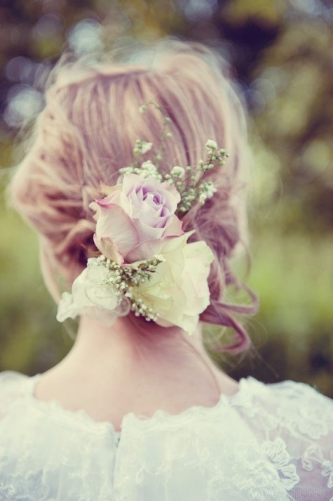 Summer of Love – A  Bohemian Festival Feel Styled Shoot By Louise Holgate, wedding hair, wedding, vintage wedding
