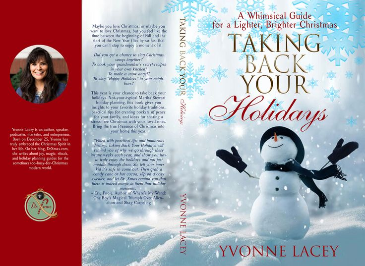 Designs | Non-fiction book for adults, parents & grandparents who desire a stress-free Christmas | Book cover contest