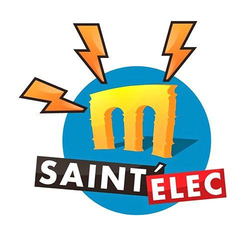 Création du logo de l'entreprise Saint'Elec à Saintes