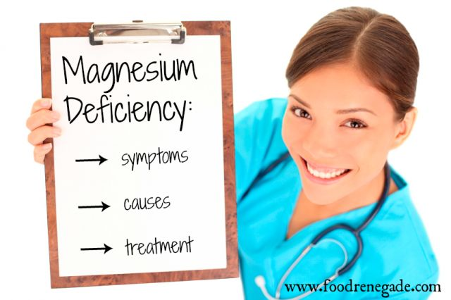 Magnesium Deficiency: Symptoms, Causes, & Treatment - Food Renegade
