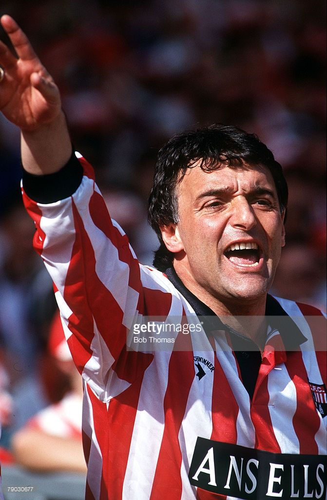 Sport, Football, Autoglass Trophy Final, Wembley, London, England, 16th May 1992, Stoke City 1 v Stockport County 0, Stoke Manager Lou Macari