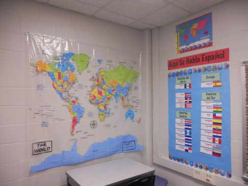 Classroom decor | Secondary Spanish