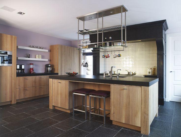 25 beste idee n over modern rustieke interieur op pinterest rustieke interieurs rustiek - Deco land keuken ...