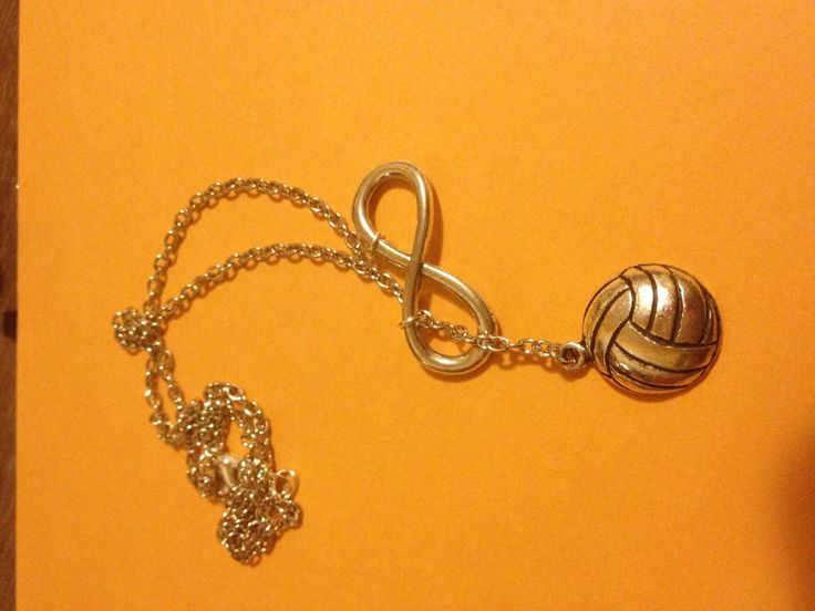 Volleyball Forever Drop Necklace