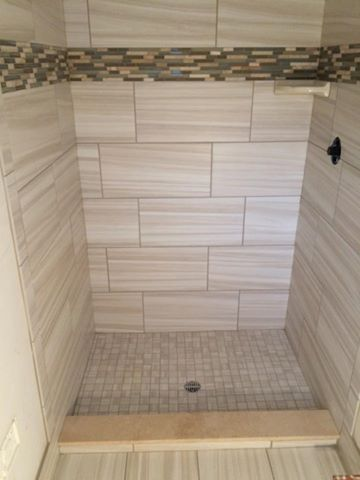 12x24 Tile Staggered Shower Google Search Bathroom