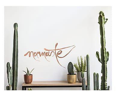 Adesivo da parete in vinile Namaste