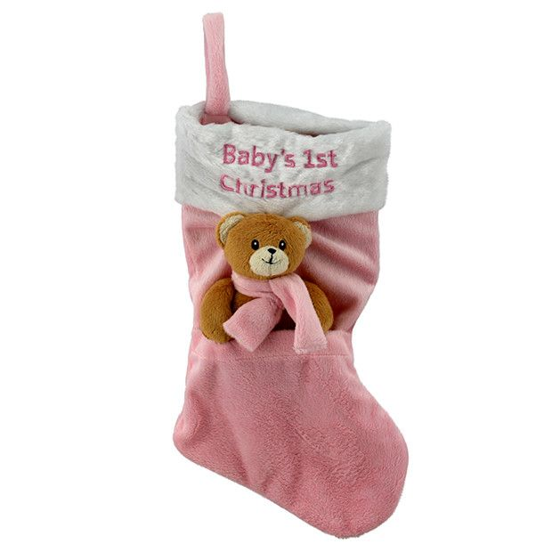 Baby's 1st Christmas Stocking - Pink, $12 from Target at #MacquarieCentre