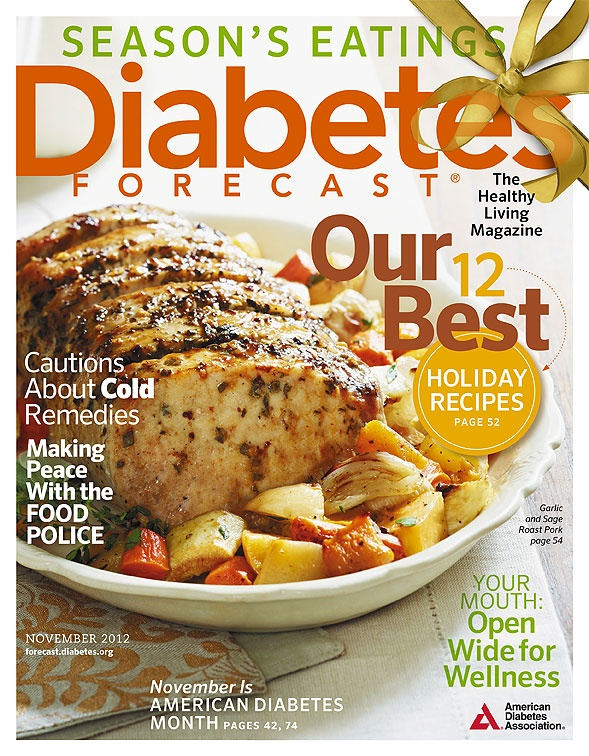 November 2012 issue of Diabetes Forecast, The Healthy Living Magazine!