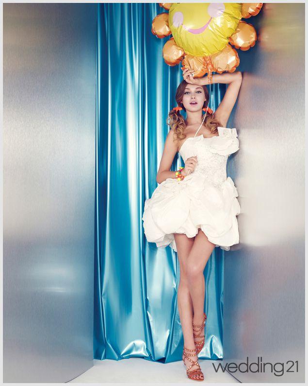 [웨딩드레스] ② 순백의 웨딩드레스 NO 컬러와 미니의 웨딩드레스 화보| Daum라이프