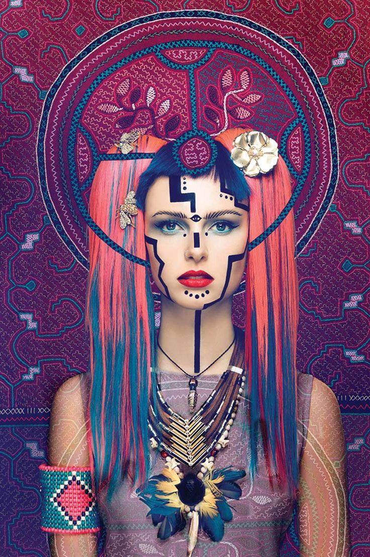 Visionary Art Project, stylist Mia Morgan, make-up artist Georgina Billington and photographer Lindsay Adler