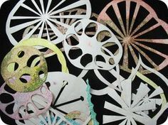 Making Tyvek stencils for more gelatin printmaking.