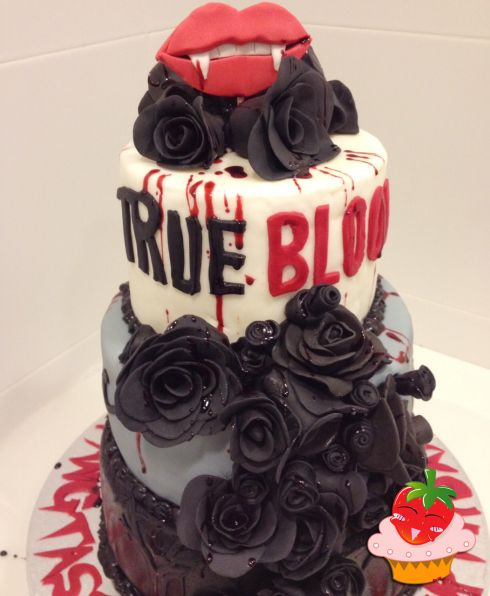 True Blood Cake / My Sweet Ichigo