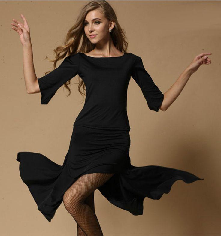 US  27.21   piece 2015 Latin Dance Costumes For Women Red Black Blue Latin 2149b730caae