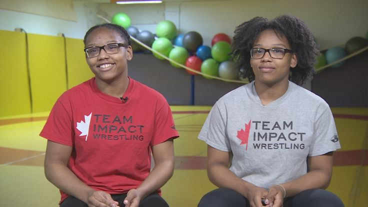 Ajax twins who gave up basketball for wrestling now representing Canada - Toronto - CBC News