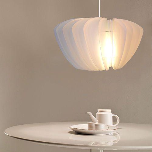 A678N-Haenge-Leuchte-520-Weiss-Wohn-Kuechen-Ess-Zimmer-Decke-Pendel-Lampe 52 x 30 cm, 79 EUR (migeaa-com)