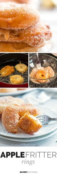 Apple Fritter Rings Recipe — Dishmaps