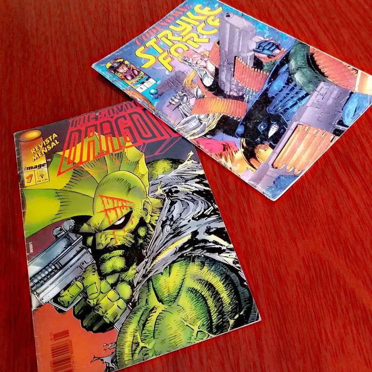 The Savage Dragon & Codinome: Stryke Force (01)  #editoraabril #imagecomics #savagedragon #kurr #eriklarsen #editoraglobo #codinomestrykeforce #codinamestrykeforce #morganstryker #marcsilvestri #brandonpeterson #comics #comicollection #quadrinhos #hq #hqs #gibi #leitura #reading #geek #nerd