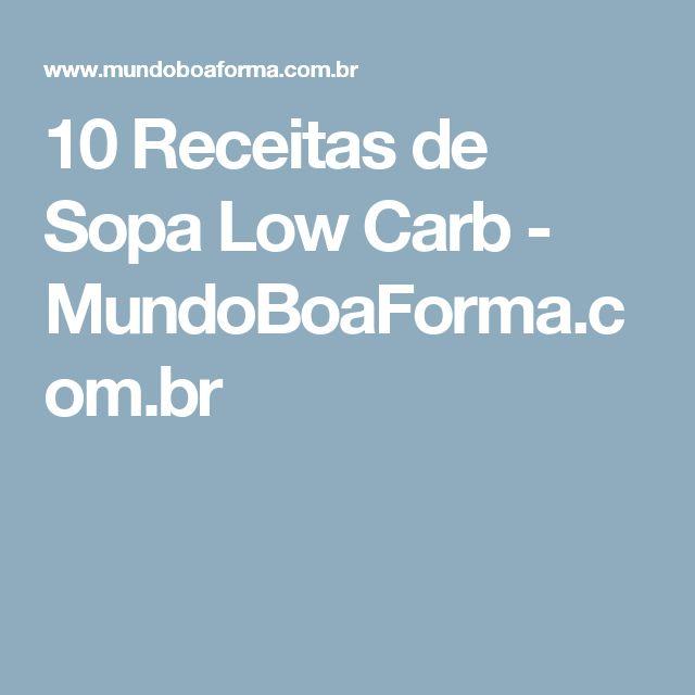 10 Receitas de Sopa Low Carb - MundoBoaForma.com.br
