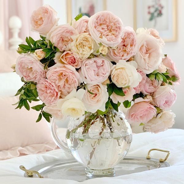 The Grande Bouquet In 2021 Rose Bouquet David Austin Roses Bouquet Garden Rose Bouquet